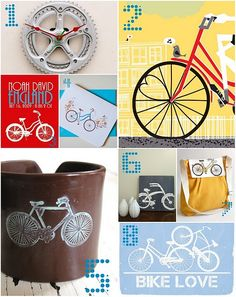 bicycle themed nursery?