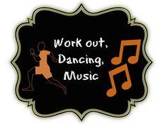 Workout, Dancing & Music pinterest board