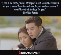 Catch up on SHE WAS PRETTY, starring Hwang Jung Eum and Park Seo Joon, tonight on DramaFever!