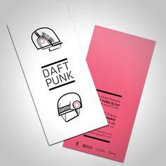 Daft Punk – Promo Card   Inspiration Über Alles – designseduces