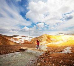 Fumarole field in Namafjall, Iceland by Galyna Andrushko
