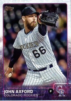 John Axford Rockies Baseball, Colorado Rockies, Mlb, Baseball Cards, Sports, Hs Sports, Sport