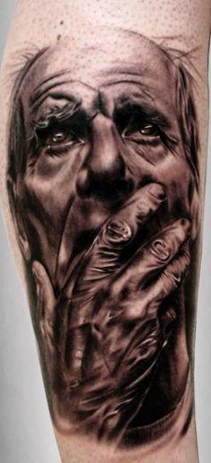 Tattoo by Silvano Fiato
