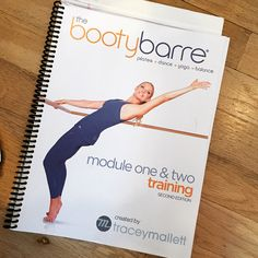 Booty Barre Teacher Training Materials  Workout Bootybarre
