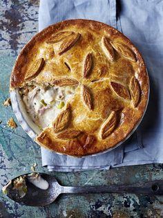 Jamie Oliver :Gluten-free chicken pie