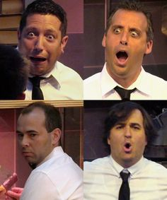 Impractical jokers movie theater employees. Priceless. Murr's face is my fav here lol