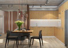 loft brick concrete tracking veneer ikea