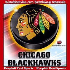 Keepinit Real Hockey News: Blackhawks Are Breaking Records  The Blackhawks broke another record with their win Tuesday. Chicago's win, its 10th straight, set a new mark for most wins in a shortened NHL season.  keepinitrealsports.com