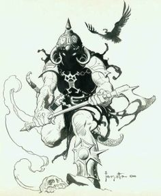 Deathdealer Sketch