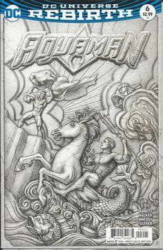 DC Aquaman Rebirth comic issue 6 Limited variant