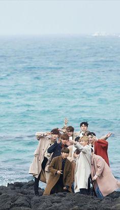Wanna One x Innisfree: Wanna One Go in Jeju Wallpaper Jaehwan Wanna One, Ikon Wallpaper, Ong Seung Woo, Seventeen Wallpapers, Guan Lin, Monsta X Kihyun, Group Pictures, Kim Jaehwan, Ha Sungwoon