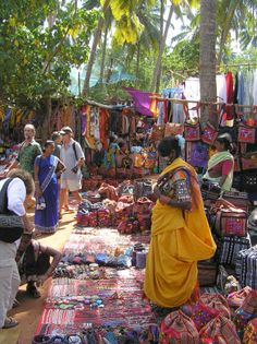Anjuna Market Goa, one of my favourite Markets,