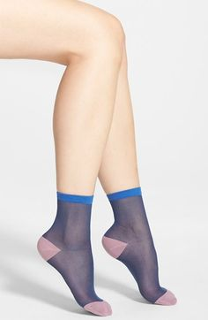 Free shipping and returns on Free People 'Anastasia' Sheer Ankle Socks at Nordstrom.com. Trend-right sheer socks feature stay-put ribbed cuffs for a comfy, custom fit.