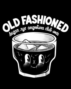 Old Fashioned - Collections | t-shirt by mcbess