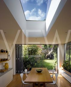 unframed rooflight