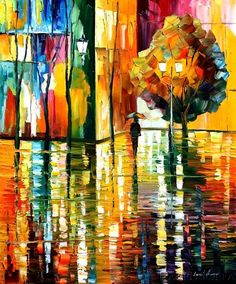leonid afremov. not a fan of most of his work, but this I like.