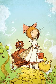 Ozma of Oz 1 by *skottieyoung on deviantART