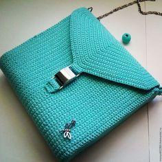 Женские сумки ручной работы. Ярмарка Мастеров - ручная работа. Купить Мятная сумочка. Handmade. Мятный, женская сумка