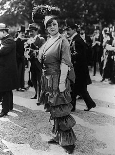 191o hobble skirt - Google Search