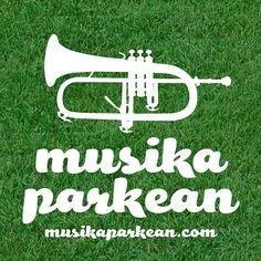 """Musika Parkean 2012 - """"Trompeta"""" pegatina"""