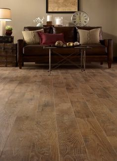 This will be the new floor in the uncarpeted areas of our barn home. LOVE IT!