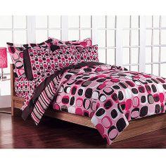 Opus Bed in a Bag Bedding Set, Pink - Walmart.com