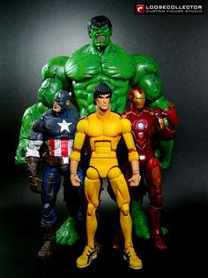 Loosecollector Custom Action Figures Official Website: Bruce Lee : Comicbook-style