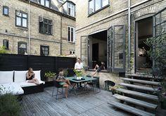 Copenhagen Townhouse Outdoor Space