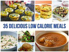 35 Delicious Low Calorie Meals