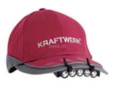 Kraftwerk 32060 LED-Baseball-Mützenlicht, CHF 4.90 auf Brack.ch Chf, Bicycle Helmet, Baseball Hats, Online Shopping, Baseball Caps, Cycling Helmet, Baseball Hat, Snapback Hats