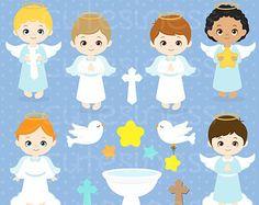 Ángel imágenes prediseñadas imágenes por LittleLiaGraphic en Etsy