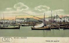 Porto de Pesca de Olhão Algarve, Naval, Portuguese, Old Photos, Landscapes, Magic, History, Places, Porto