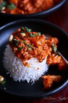 African chicken stew recipe stew africans and food west african chicken peanut stew not quite nigella forumfinder Gallery