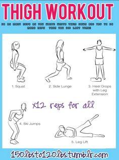 Thigh Workouts