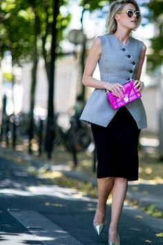 Couture Fall '15 Fashion Week Street Style | IN FASHION daily