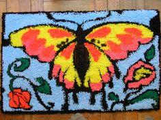 Obra de artesanía: Mariposa Artesanos de la tierra