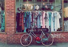 bike, clothes, colors, cute, store