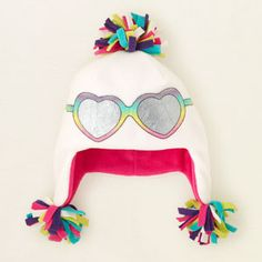 accessories - accessories - sunglasses microfleece hat | Children's Clothing | Kids Clothes | The Children's Place