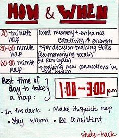 power naps part 3 | Study-Hack