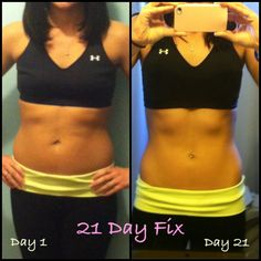 These are my personal results after 1 round of the 21 Day Fix. As a coach, it makes me so happy to have visible results to share! fitwithrenee25@gmail.com / IG: fitwithrenee