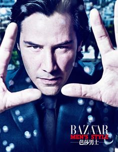 Keanu Reeves Photographed by Chen Man for Harper's Bazaar