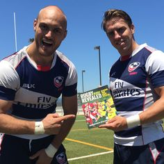 USA Eagles Scott LaValla & Chris Wyles contributed to Rugby Revealed!