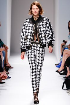 Balmain Spring 2014 Ready-to-Wear.