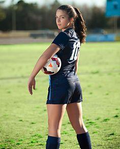 Soccer portrait for East Duplin High School Sports Photography Team Sports Zamora Photography North Carolina