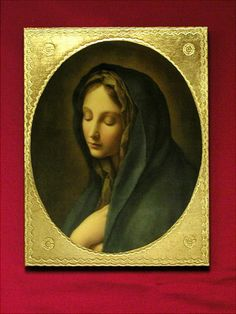 Our Lady Of Sorrows Florentine Icon By Carlos Dolci – Beattitudes Religious Gifts