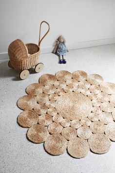 Natural Camelia - Armadillo Floor Rugs - Curious Grace