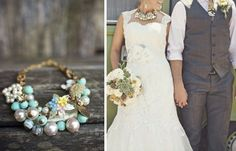 23 Fabulous Statement Necklaces for the Bride - Mon Cheri Bridals