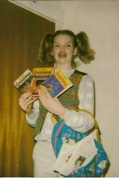 Totally psyched about Goosebumps books. R.L. Stine, you affected this girl.