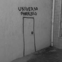 Find images and videos about black and white, grunge and universe on We Heart It - the app to get lost in what you love. Graffiti Quotes, Street Quotes, Parallel Universe, Aesthetic Grunge, Decir No, Texts, Neon Signs, Letters, Mood