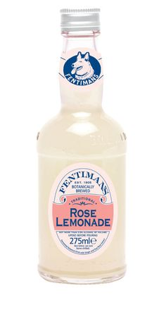 Fentiman's Rose Lemonade...bottled heaven.